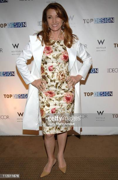 Jane Seymour during Bravo's Top Design Finale Party Hosted by Todd Oldham at W HOTEL in New York City New York United States
