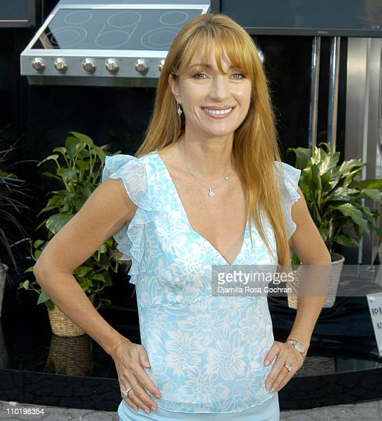Jane Seymour during Electrolux Icon Debut in North America at Grand Army Pulitzer Plaza in New York City New York United States
