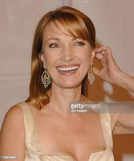 """Jane Seymour during The Motion Picture & Television Fund Presents a Special Screening of """"Walk The Line"""" - Arrivals at Academy of Motion Picture Arts..."""