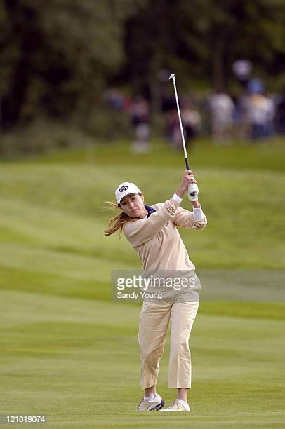 Jane Seymour during The Northern Rock All Star Charity Gala Golf Tournament Final Day at Celtic Manor Resort in wales Wales Great Britain