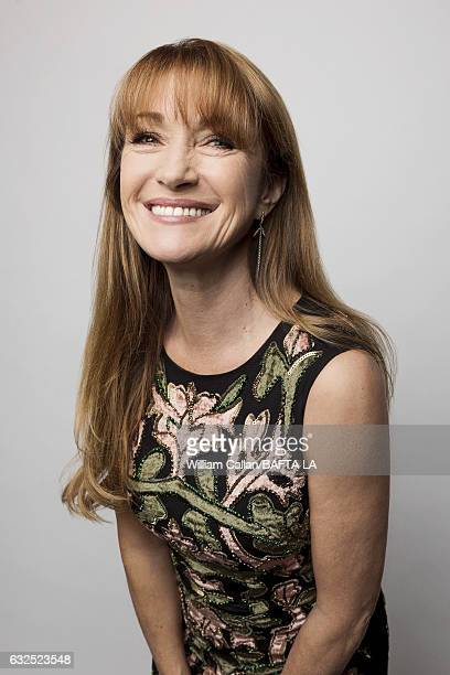 Jane Seymour poses for a portraits at the BAFTA Tea Party at Four Seasons Hotel Los Angeles at Beverly Hills on January 7 2017 in Los Angeles...