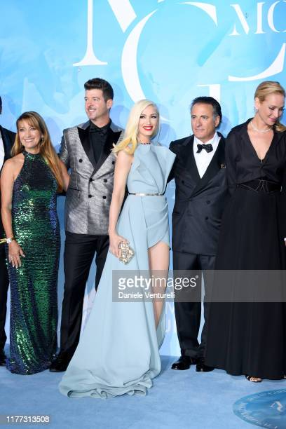 Jane Seymour, Robin Thicke, Gwen Stefani, Andy García and Uma Thurman attends the Gala for the Global Ocean hosted by H.S.H. Prince Albert II of...