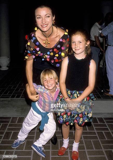 Jane Seymour Son Sean Flynn and Daughter Katherine Flynn