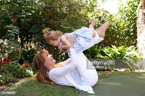 Jane Seymour with her granddaughter
