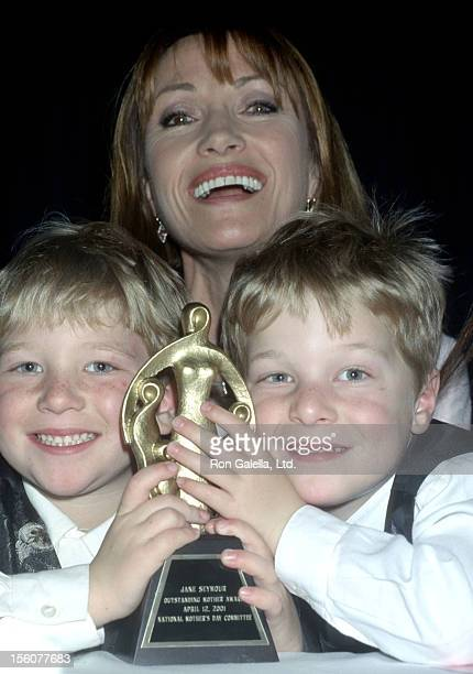 Jane Seymour with sons John Keach and Kristopher Keach