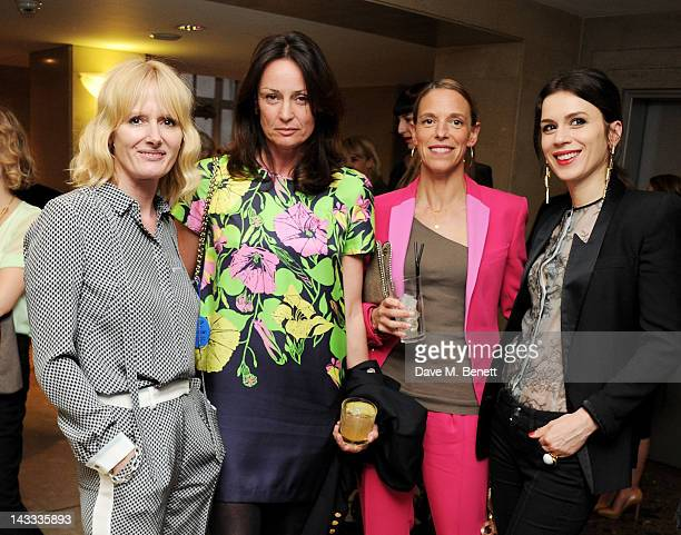 Jane Shepherdson, Trish Simonon, Tiphaine de Lussy and Lara Bohinc attend as Whistles and Penguin inspire 'The Best of Everything' dinner hosted by...