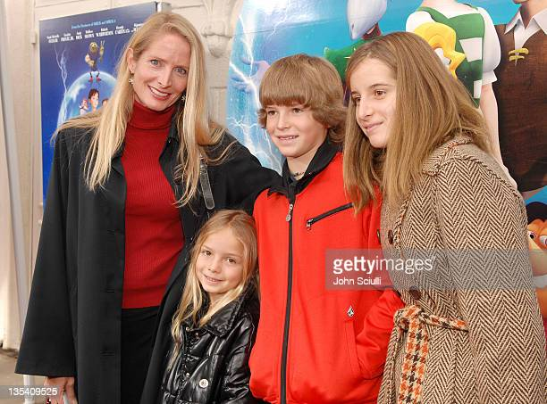 Jane Sibbett with Violet Kai and Ruby during Los Angeles Premiere of LionsGate's 'Happily N'Ever After' Hosted by the Hot Moms Club at The Mann...
