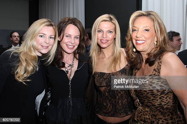 Jane Sindler Brenda von Schweickhardt Andrea Hissom and Denise Rich attend AUDI FORUM New York City at Audi Showroom on March 19 2008 in New York City
