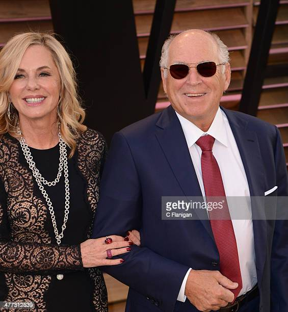 Jane Slagsvol and Jimmy Buffett arrive to the 2014 Vanity Fair Oscar Party on March 2 2014 in West Hollywood California