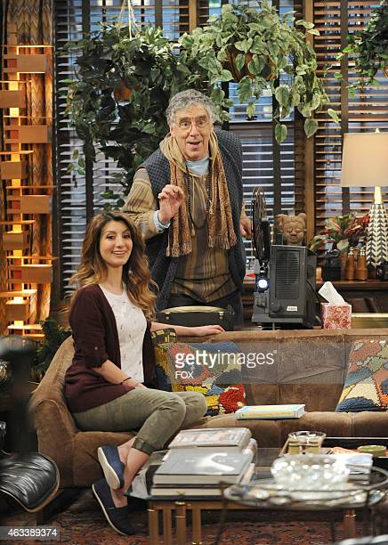 Jane takes etiquette lessons from Oscar in the French Roast episode of MULANEY airing Sunday Jan 18 2015 on FOX