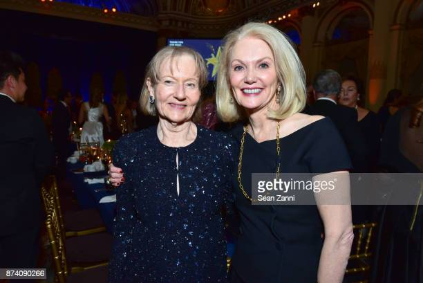 Jane Trapnell and Nancy Cain Marcus attend Sidney Toledano and Peter Marino being honored at French Institute Alliance Francaise's Trophee des Arts...
