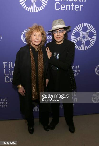 Jane Wagner and Lily Tomlin attend Two Free Women: Lily Tomlin & Jane Wagner at Lincoln Center on September 12, 2019 in New York City.