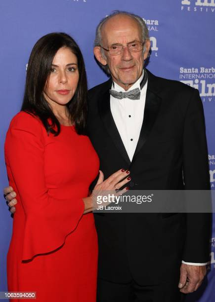 Jane Walker Wood and Christopher Lloyd attend the 13th Annual Santa Barbara International Film Festival Honors Hugh Jackman With Kirk Douglas Award...