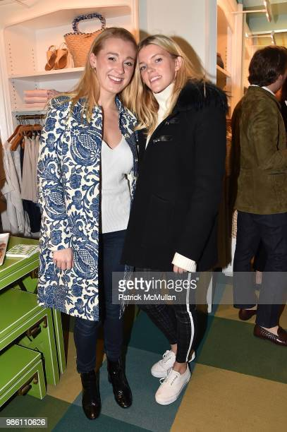 Jane Warnock and Meghan Collins attend JMcLaughlin Shopping Event to benefit Save the Children at JMcLaughlin on April 5 2018 in New York City