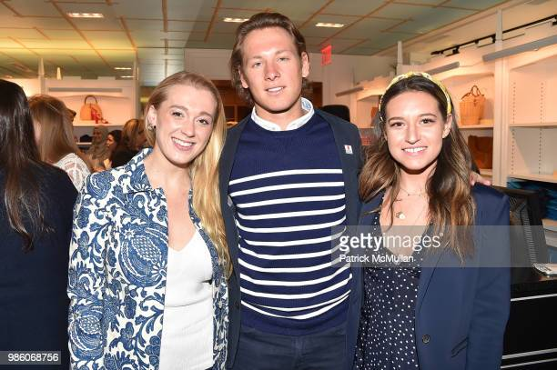 Jane Warnock William Hayden and Esme Yozell attend JMcLaughlin Shopping Event to benefit Save the Children at JMcLaughlin on April 5 2018 in New York...