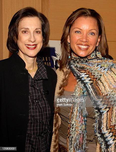Jane Weitzman and Vanessa Williams during Stuart Weitzman 2007 Oscar Suite Day 3 at Sofitel Hotel in Los Angeles CA United States