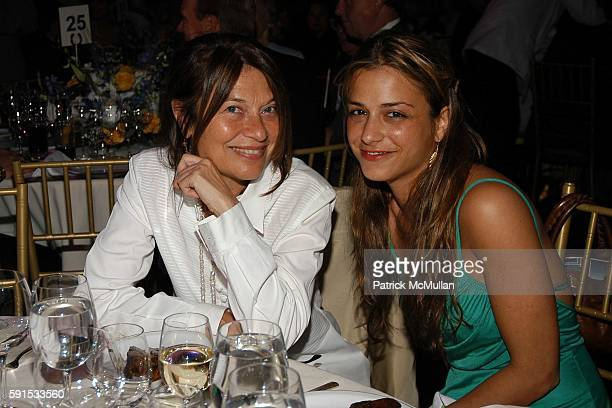 Jane Wenner and Charlotte Ronson attend Caron Foundation's 10th Annual New York City Gala at Ciprani on June 8 2005 in New York City