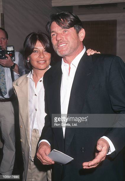 Jane Wenner and Jann Wenner during Fear and Loathing in Las Vegas New York City Premiere 1998 at Sony Theater in New York New York United States
