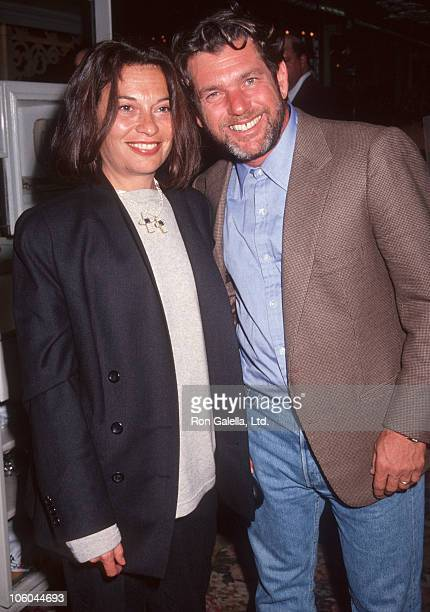 Jane Wenner and Jann Wenner during Walden Woods Benefit Concert After Party October 21 1991 at Tavern on the Green in New York City New York United...