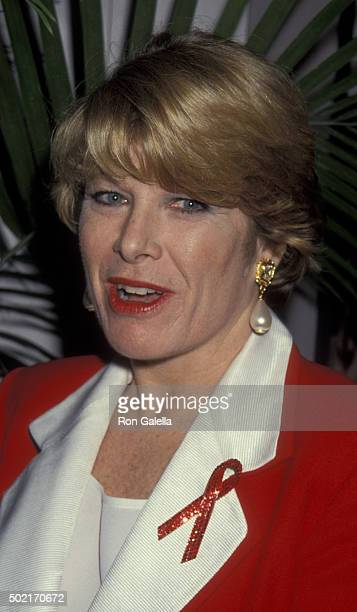 Jane Whitley attends NAPTE Convention on January 26 1993 at the Moscone Theater in San Francisco California