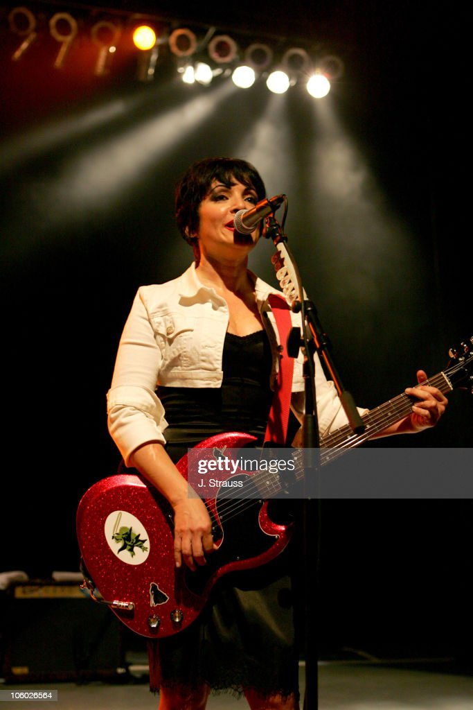 The Go-Go's and Morningwood Perform Live at the Greek Theater - July 14, 2006 : News Photo