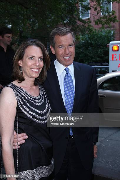 Jane Williams and Brian Williams attend A Private Screening of Magnolia Pictures GONZO THE LIFE AND WORKS OF DR HUNTER S THOMPSON at Waverly Inn on...