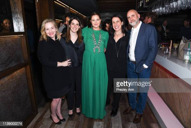 Jane Wiseman Brittney Segal Drew Barrymore Tracy Katsky and Victor Fresco attend Netflix's Santa Clarita Diet Season 3 Premiere at Hollywood Post 43...