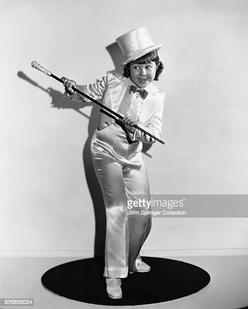 Jane Withers assumes the guise of her role as child dancing sensation Geraldine Revier from the 1935 film This is the Life