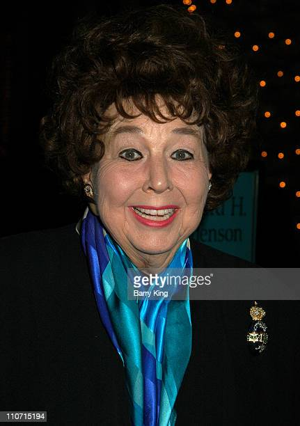 Jane Withers during Academy Of Television Arts & Sciences Presents TV Cares: Ribbon Of Hope Celebration 2004 at Leonard H. Goldenson Theatre in North...