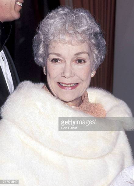 Jane Wyman at the Beverly Hilton Hotel in Beverly Hills California