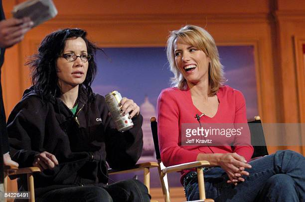 Janeane Garofalo and Laura Ingraham