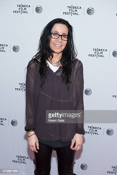 Janeane Garofalo attends the Directors Series Brad Bird And Janeane Garofalo during the 2015 Tribeca Film Festival at SVA Theatre 2 on April 24 2015...