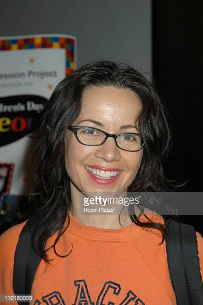 Janeane Garofalo during Children's Day Artrageous Hosted by The Edwin Gould Foundation at The Metropolitan Pavillion in New York City NY United States