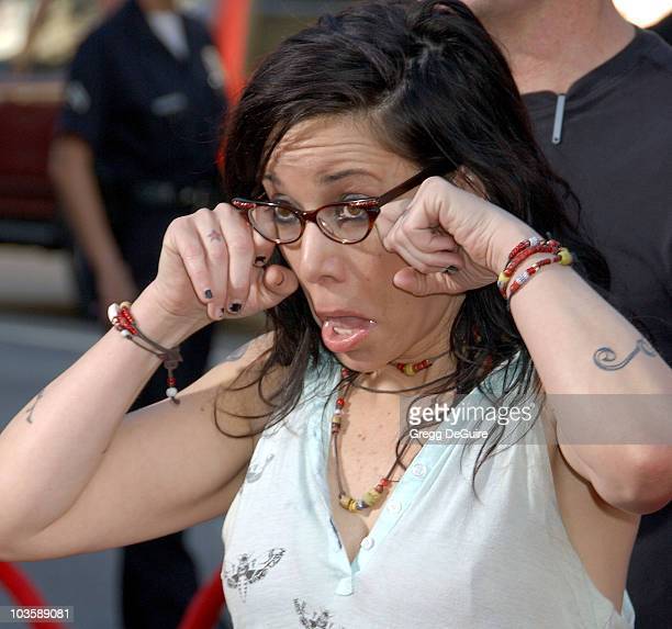 Janeane Garofalo during Ratatouille Los Angeles Premiere Arrivals at Kodak Theatre in Hollywood California United States
