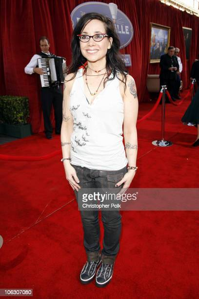 Janeane Garofalo during Ratatouille Los Angeles Premiere Red Carpet at Kodak Theatre in Hollywood California United States
