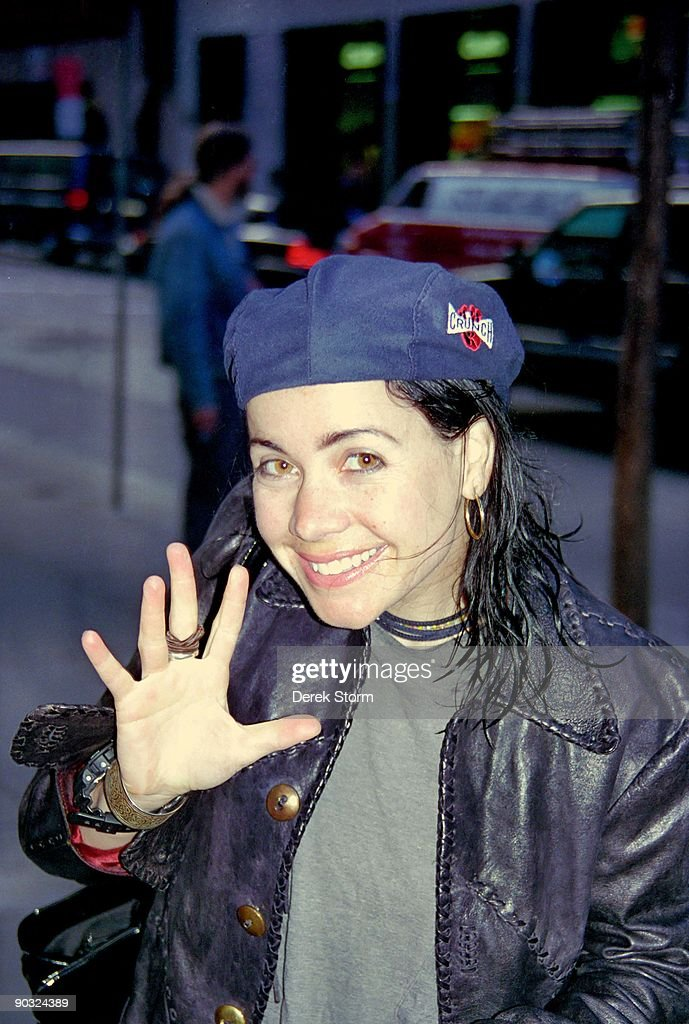 """Janeane Garafalo Appears on the """"Today Show"""" - June 18, 1996 : News Photo"""