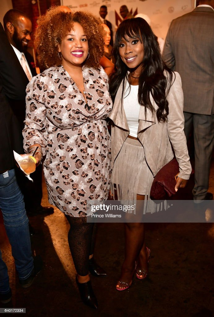 Janee Bolden and Kameela Williams attend 'The Made Man Awards 2017' at 595 North on January 26, 2017 in Atlanta, Georgia.