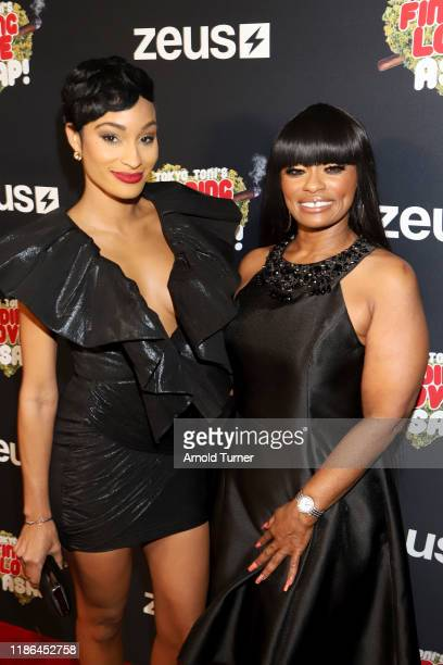 Janeisha John and Tokyo Toni attend Tokyo Toni's Finding Love ASAP Los Angeles premiere at AMC Theaters Universal City Walk on November 08 2019 in...