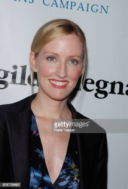 Janel Moloney at the 8th annual dinner for American Oceans Campaign Partners Award honoring former President Bill Clinton for his efforts to protect...