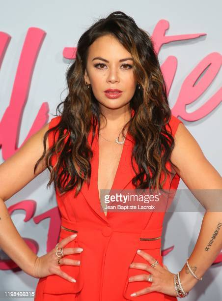 Janel Parrish attends the Premiere of Netflix's To All The Boys PS I Still Love You at the Egyptian Theatre on February 03 2020 in Hollywood...