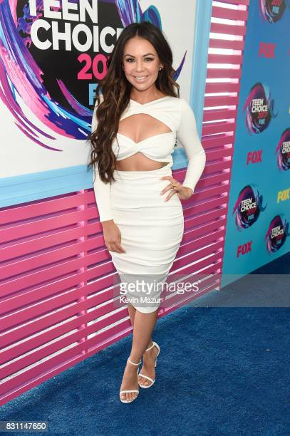 Janel Parrish attends the Teen Choice Awards 2017 at Galen Center on August 13, 2017 in Los Angeles, California.
