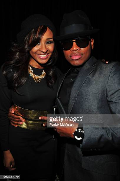 Janell Snowden and NeYo attend NEYO's 30th Birthday Party hosted by MARY J BLIGE at Cipriani 42nd Street on October 17 2009 in New York
