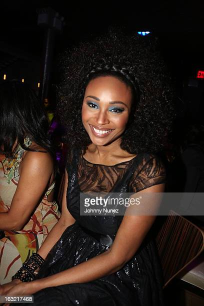 Janell Snowden attends Spotlight NY live at Stage 48 on March 5 2013 in New York City