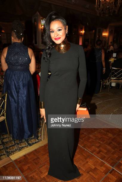 Janell Snowden attends the AFUWI 22nd Annual Legacy Awards Gala at The Pierre Hotel on February 27 2019 in New York City