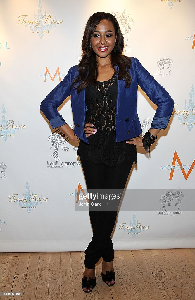 Janell Snowden attends the 'Cuts Of Our Infirmities' book launch party at the Tracy Reese Boutique on April 22, 2010 in New York City.