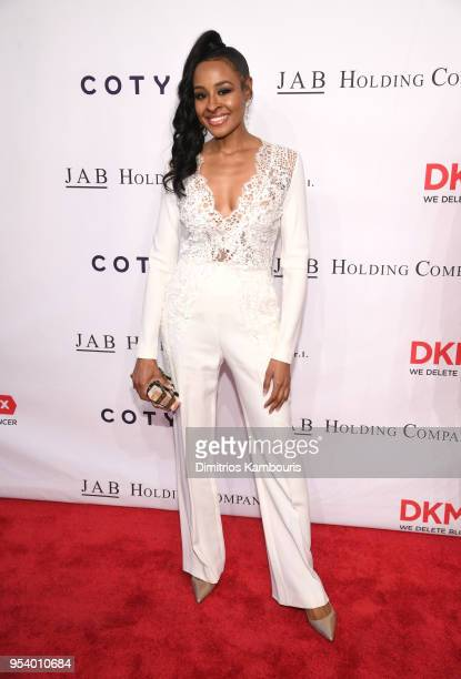 Janell Snowden attends The DKMS Love Gala 2018 at Cipriani Wall Street on May 2 2018 in New York City