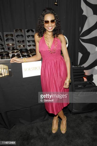 Janell Snowden during 60th Annual Tony Awards On 3 Productions Gift Suite at Radio City Music Hall in New York City New York United States
