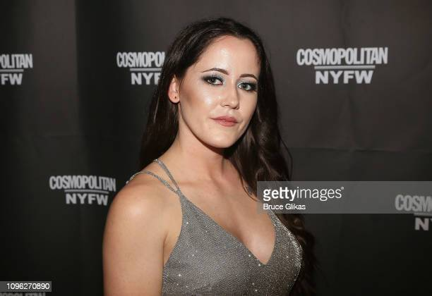 Janelle Evans poses at the Cosmopolitan New York Fashon Week #Eye Candy event After Party at Planet Hollywood Times Square on February 8 2019 in New...