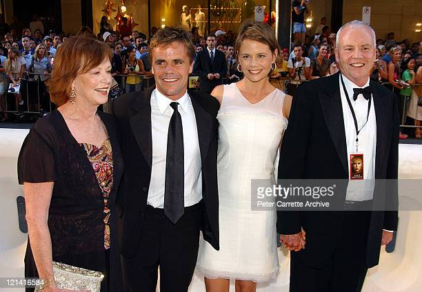 Janelle Kidman Angus Hawley Antonia Kidman and Antony Kidman arrive for the Australian premiere of the film 'Cold Mountain' at the State Theatre on...