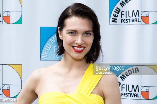 Janelle Koloski attends the 9th Annual New Media Film Festival at James Bridges Theater on June 16 2018 in Los Angeles California